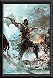 Assassins Creed 4 Edward Framed Poster