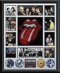 Rolling Stones oversize Framed Montage