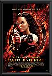 The Hunger Games Catching Fire framed poster