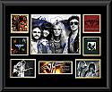 Van Halen Framed Montage