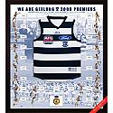2009 Geelong Cats AFL Premiership Jersey