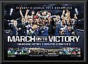 Melbourne Victory 2015 Premiership Framed Sportsprint