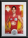 Gold Coast Suns Hero Michael Rischitelli signed